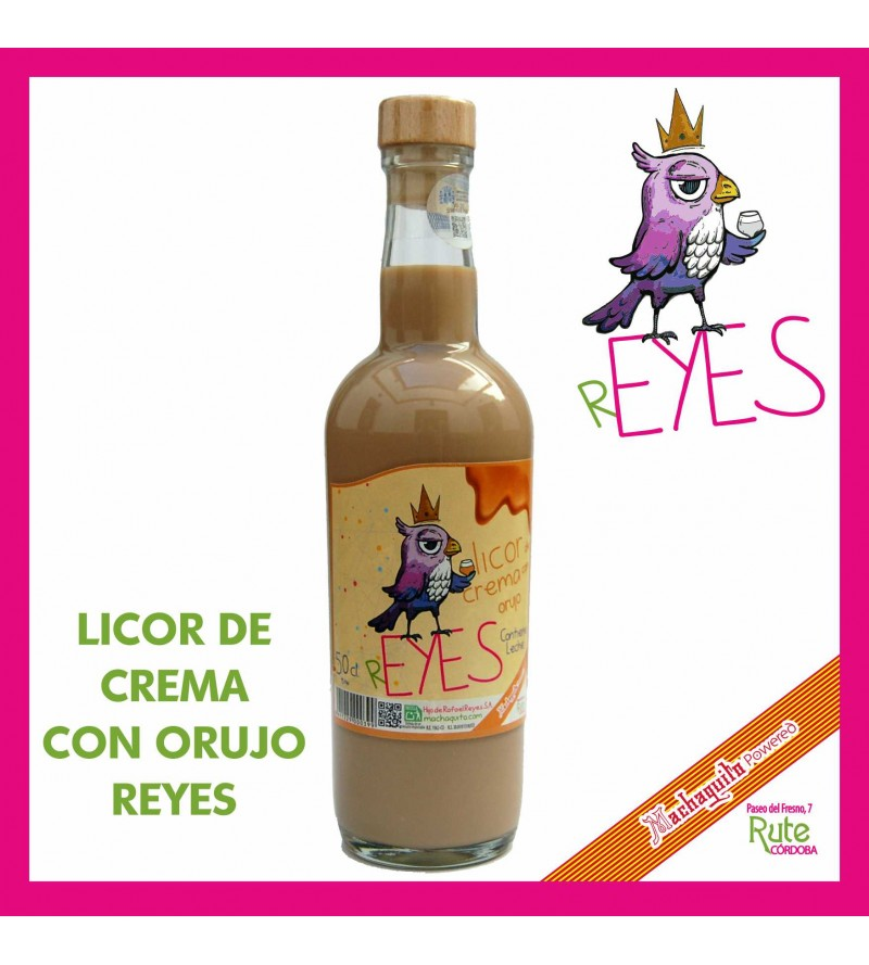 Licor de Crema con Orujo Reyes