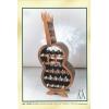 Imagen Botellero guitarra 19 botellas - Acabado pintado