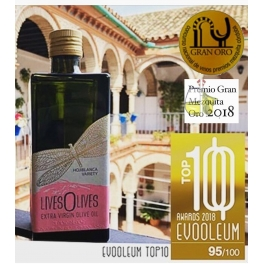 LivesOlives - Gran Mezquita de Oro 2018 - EVOOELUM TOP10 - 500 ml