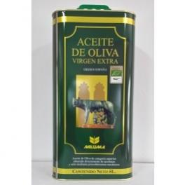 Aceite OLiva Virgen Extra Ecológico 5 l Lata