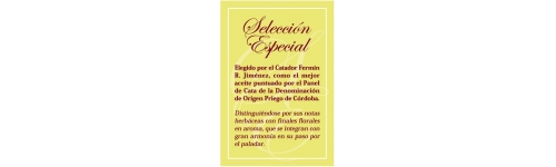 Aceite de Oliva Señorío de Vizcántar Selección Especias