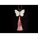 Imagen Collar mariposa borla