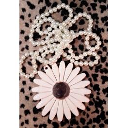 Collar Margarita 1 Blanco