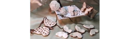 Mariposas de cerámica