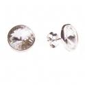 Imagen Pendientes de plata y swarovski traslucido grande