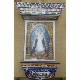 Virgen de Belén coronada
