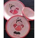 Imagen Juego platos tazón infantil1