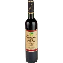 Caja de 12 botellas de vinagre balsámico
