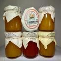 Pack 6 tarros de Mermelada 125gr