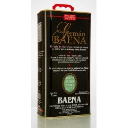 """Caja de 4 Latas de 5 litros """"Germán Baena"""""""