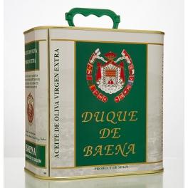 "Caja de 8 Latas de 2.5 litros ""Duque de Baena"""