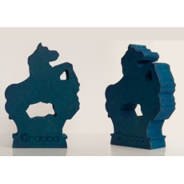 Figura Potro Azul.