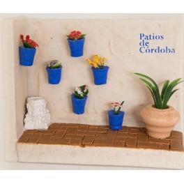Patio Cordobés Rincón Azul.