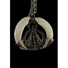 Colgante de plata Virgen de...