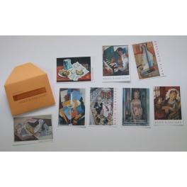 Postales pinturas de María...
