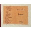Imagen Poemas - Federico García Lorca