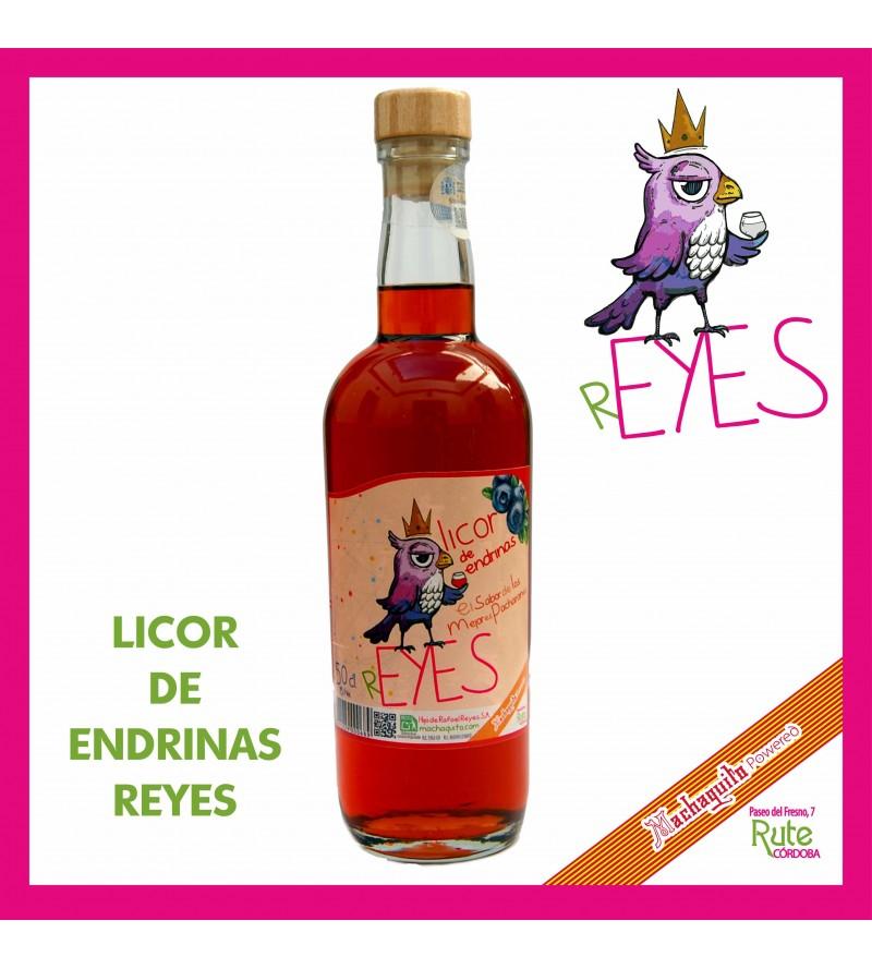 Licor de Endrinas Reyes