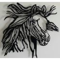 Imagen Escultura caballo desbocado