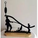 Imagen jamonero en forja pescador