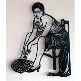 Escultura mujer cordobasa
