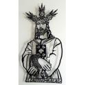 "Imagen Escultura de pared en forja ""Cristo Cautivo"""