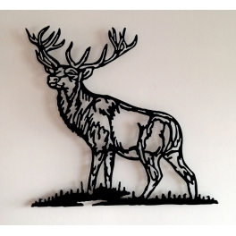 Escultura de pared en forja...