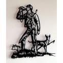 """Imagen Escultura de pared en forja """"Montería"""""""