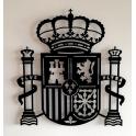 "Imagen Escultura de pared en forja ""España"""