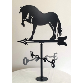 Veleta caballo mediana