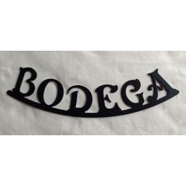 "Rótulo indicativo ""Bodega"""