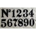 Imagen Números en forja