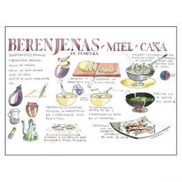 Receta Berenjenas con Miel...