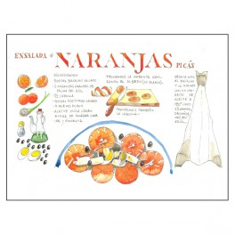 Receta Ensalada de Naranjas...