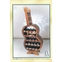 Botellero guitarra 19 botellas - Acabado pintado