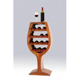 Botellero copa 18 botellas - Acabado pintado