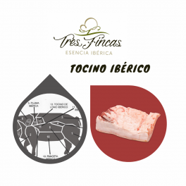Tocino ibérico Tres Fincas