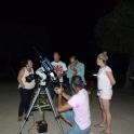 Paseo nocturno por la dehesa con observación de las estrellas