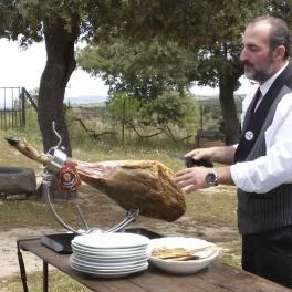 Gourmet Cata/Taller de Jamón Ibérico de Bellota dirigida por cortador profesional