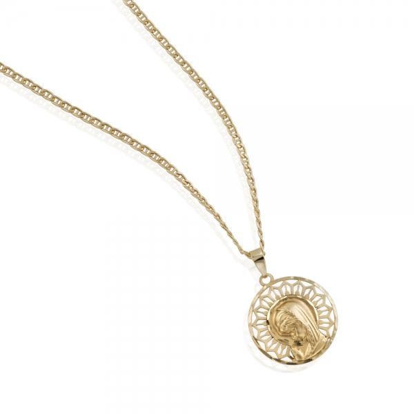 99a14e9cbe66 ... Imagen Cadena con Medalla para Niña de Comunion