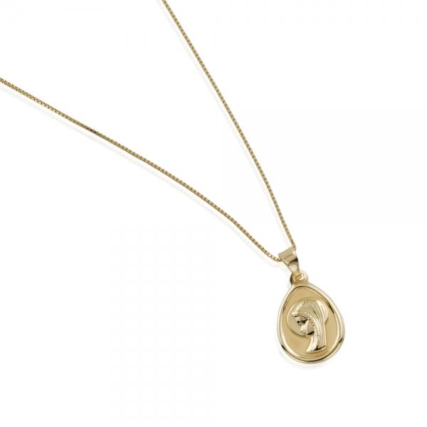 db8c6ce57853 Comprar cadena con medalla para niña de primera comunion