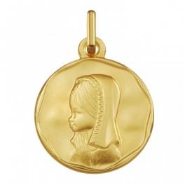 Medalla virgen niña...