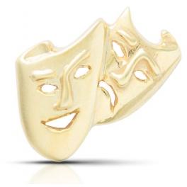 Insignia Arte Dramático oro...