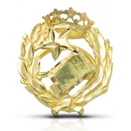 Insignia Notario oro 18 klts