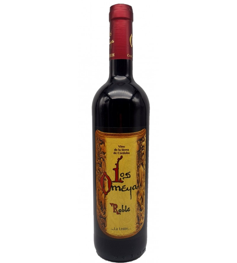 Tinto Los Omeya Roble 75 cl.