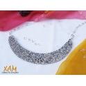 Imagen Gargantilla plata creada con Crystales Rocks de Swarovski®