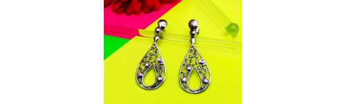 Colección Novia. Joyas en plata con rodio creadas con Crystales de Swarovski o circonitas.