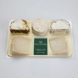 Surtido de queso de cabra 5 variedades