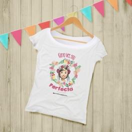 """Camiseta Mujer """"Perfecta"""""""