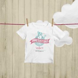 """Camiseta NIño """"Irresistible"""""""
