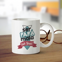 "TAZA ""PAPÁ MOLA"""